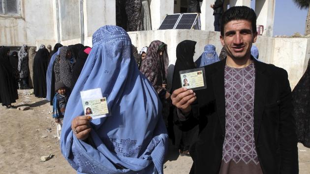 Resultado de imagen de elecciones afganistan