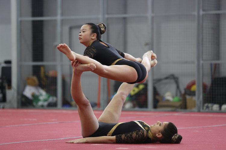 La gimnasia ourensana brilla al máximo nivel