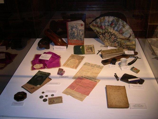 La colección en Buenos Aires del Museo de la Emigración Gallega.