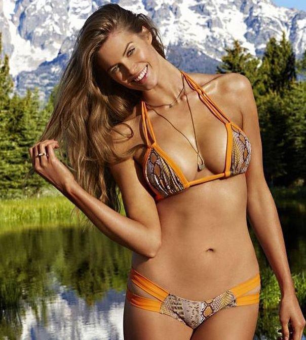 4df16fc829f4 Hannah Davis, en bikini para 'Sports Illustrated' - Gente - La ...