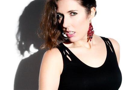 La actriz ourensana, Lucía Álvarez. - 2015072908052868960