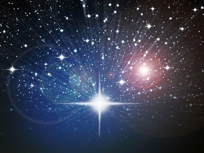 Resultado de imagen de un cielo negro cuajado de estrellas