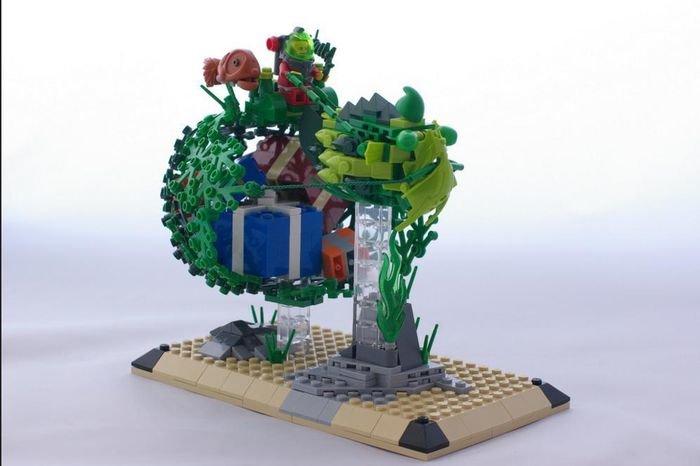 Un ourensano en el coraz n de lego ourense la regi n - Construcciones de lego para ninos ...