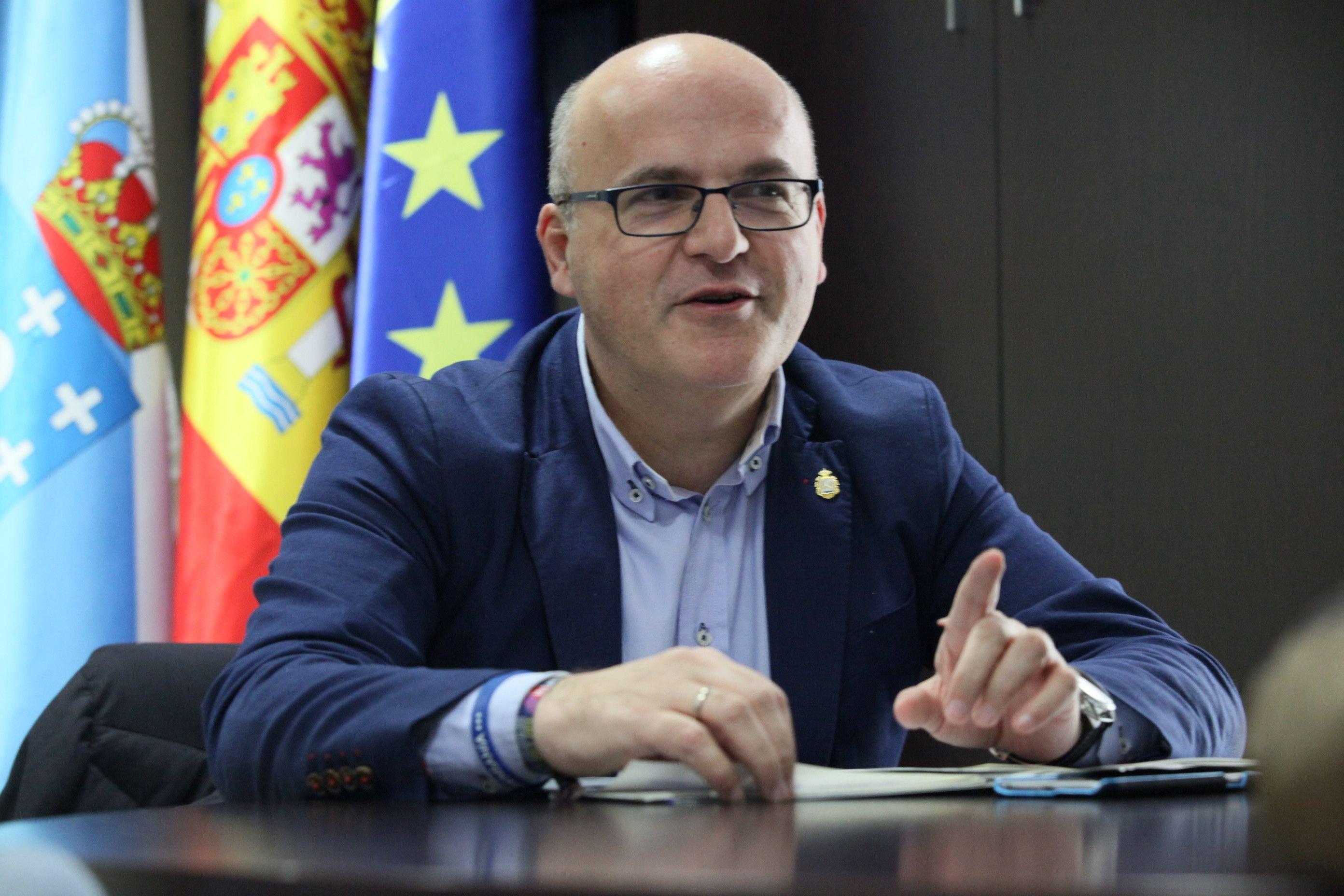 """Baltar: """"Mi meta política está en Ourense, soy un militante convencido"""""""