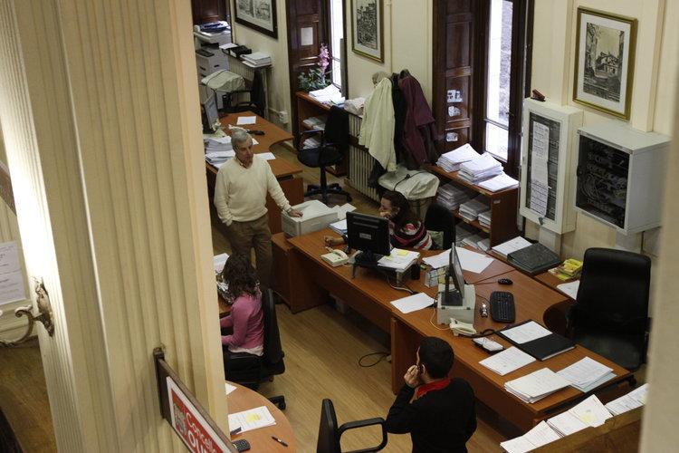 La provincia perdi durante la crisis funcionarios for Oficina empleo ourense