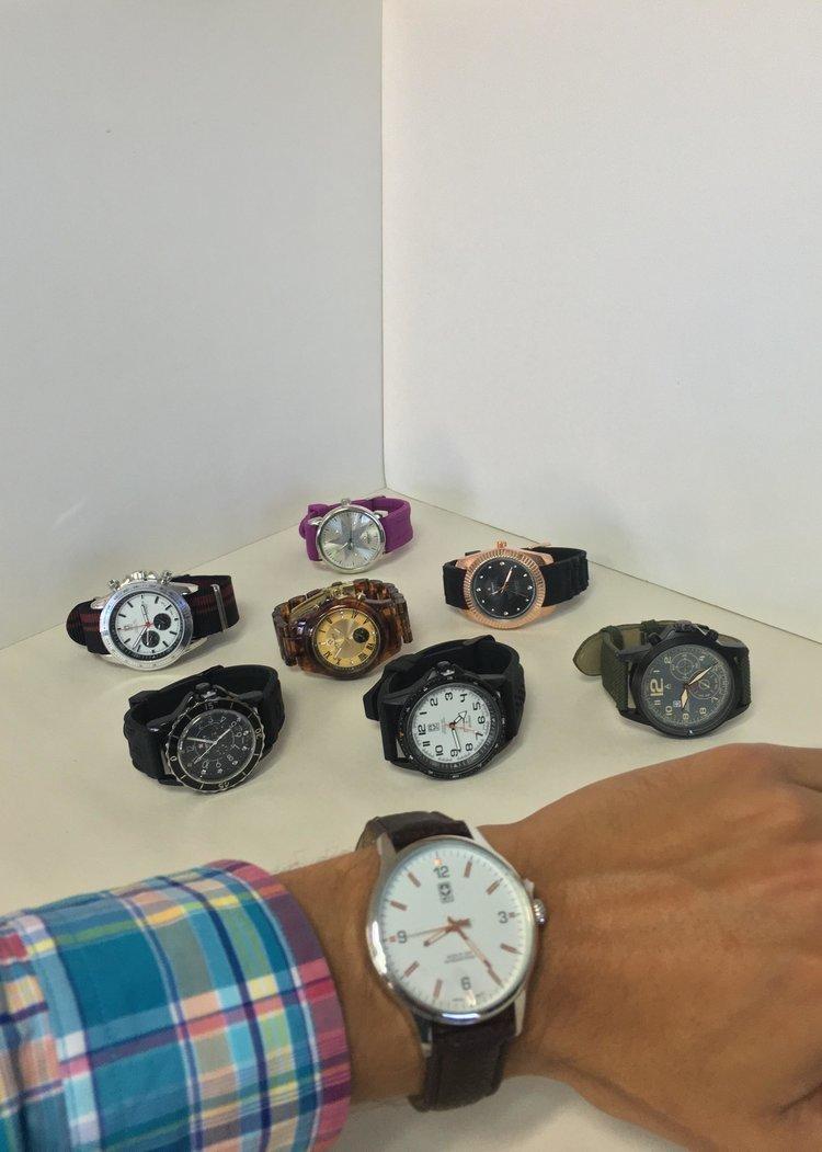 Ocho relojes de dise o actual viernes y s bado con la - Relojes de diseno ...