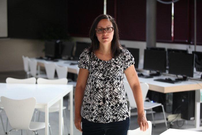 Lucía, profe coworking na Molinera.