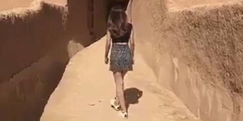 Detenida por pasearse en minifalda en Arabia Saudí