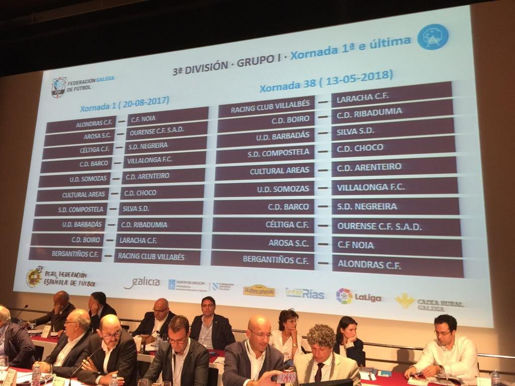 Calendario Tercera Division.Los Equipos Ourensanos De Tercera Y Preferente Ya Conocen El