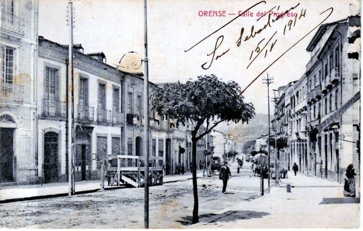 La calle progreso a principios del xx verano la regi n - Calle rafael salgado ...