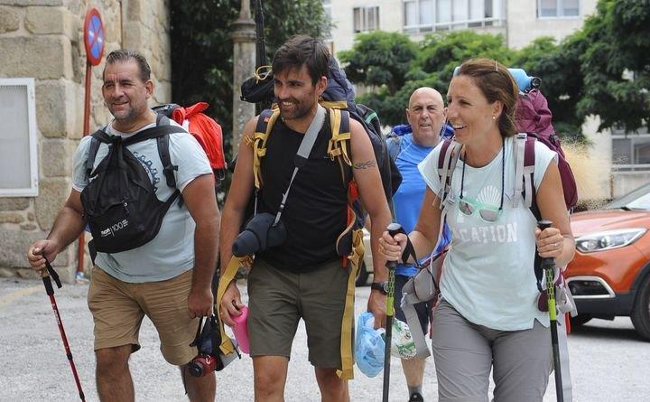 Peregrinos en la Vía de la Plata :: Albergues del Camino de Santiago
