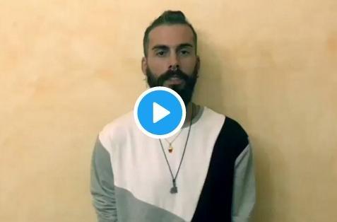 Imagen de Twitter del vídeo grabado por José María.
