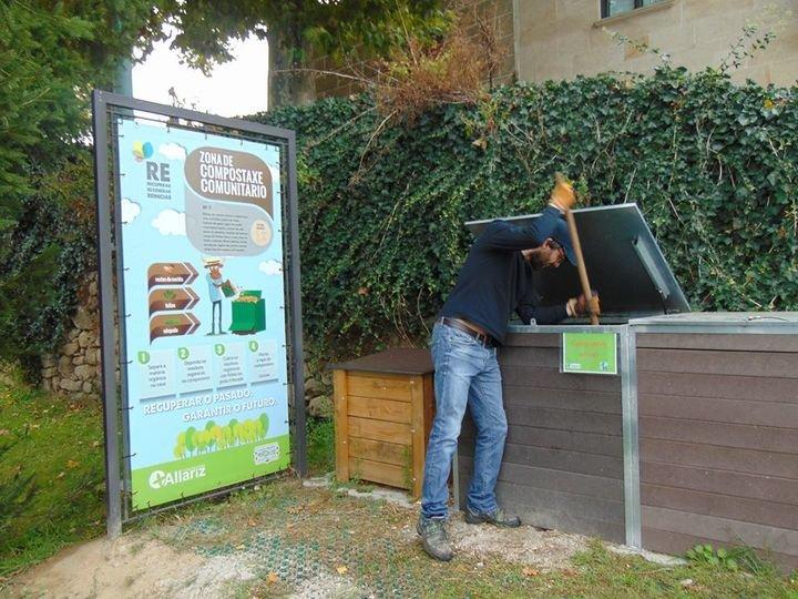 Resultado de imagen de proyecto RE allariz compost