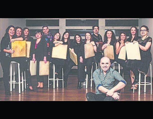 Xabier Díaz & Adufeiras de Salitre presentan disco en Trives