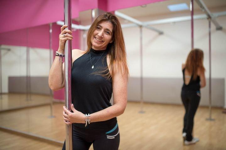 Pury Fuentefría, en plena forma con Pole Fitness