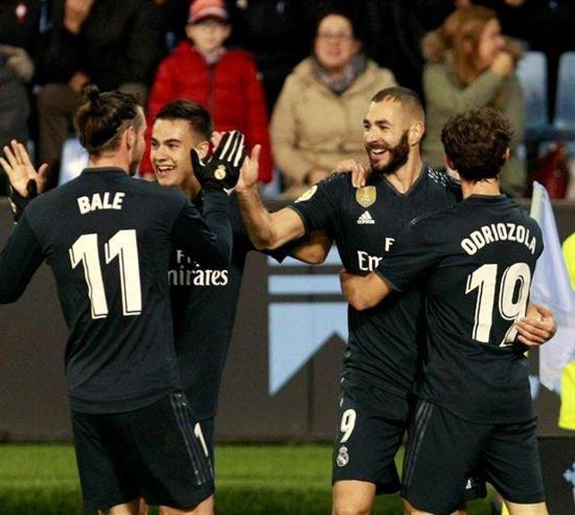 Benzema lidera en Vigo la cuarta victoria de la era Solari - Deporte ...