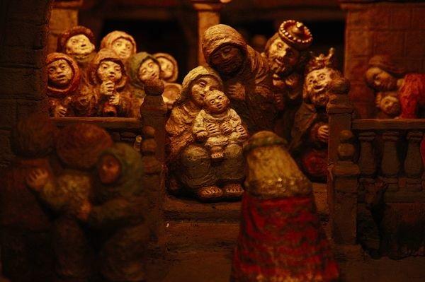 La apertura del Belén de Baltar completa la Navidad ourensana