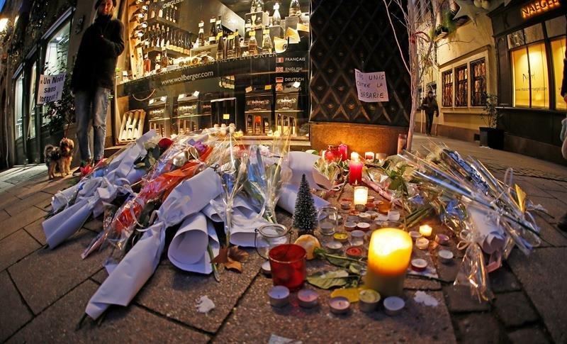 Fallece una tercera persona herida en el atentado de Estrasburgo