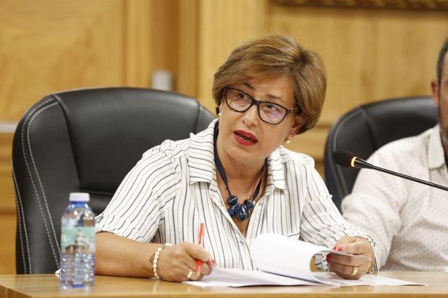 Elvira Lama, nueva portavoz socialista en la Diputación de Ourense