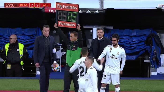 Josiño, cuarto árbitro en Real Madrid - Girona - Deporte ...