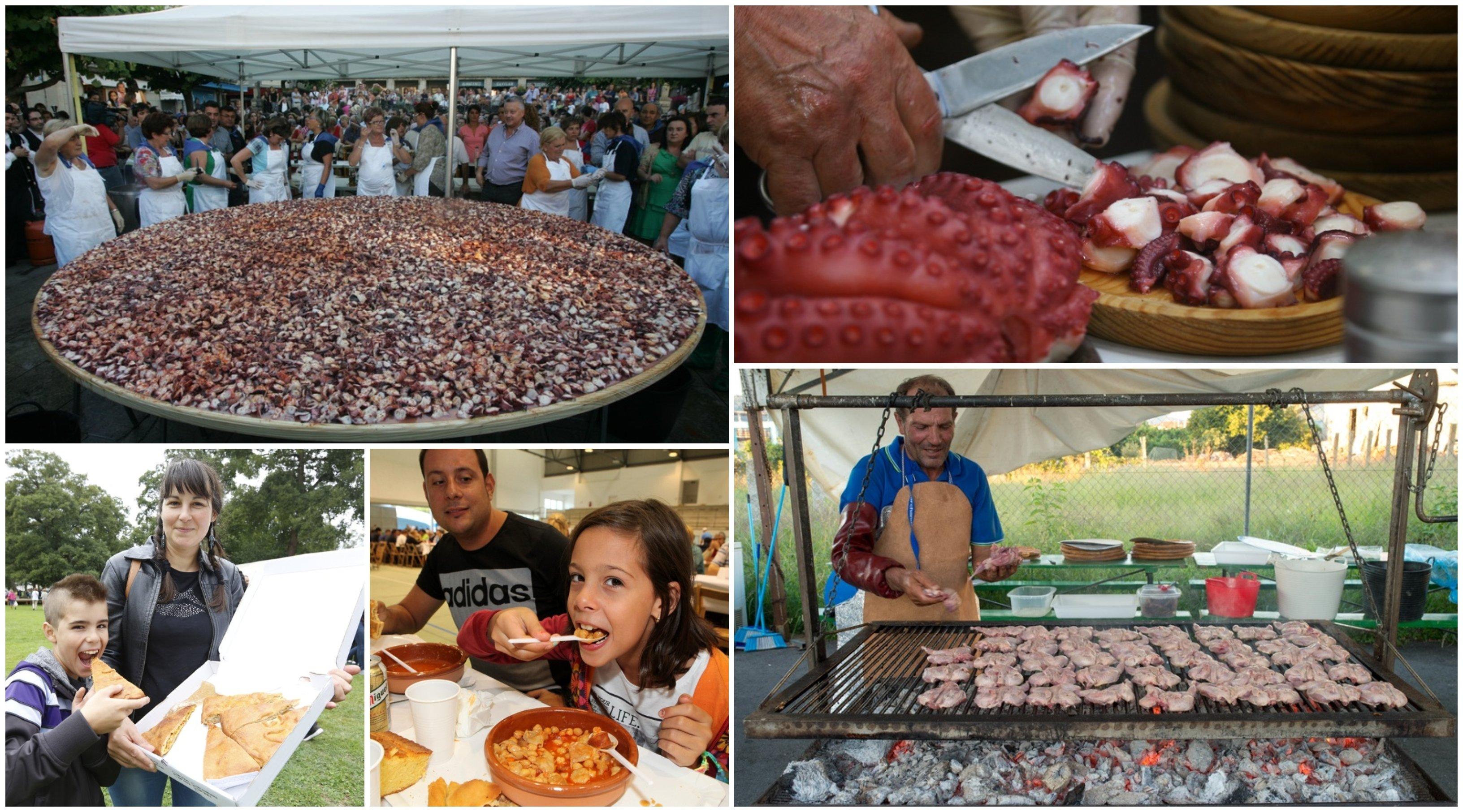 Diferentes momentos de las fiestas más emblemáticas e ineludibles de la provincia.