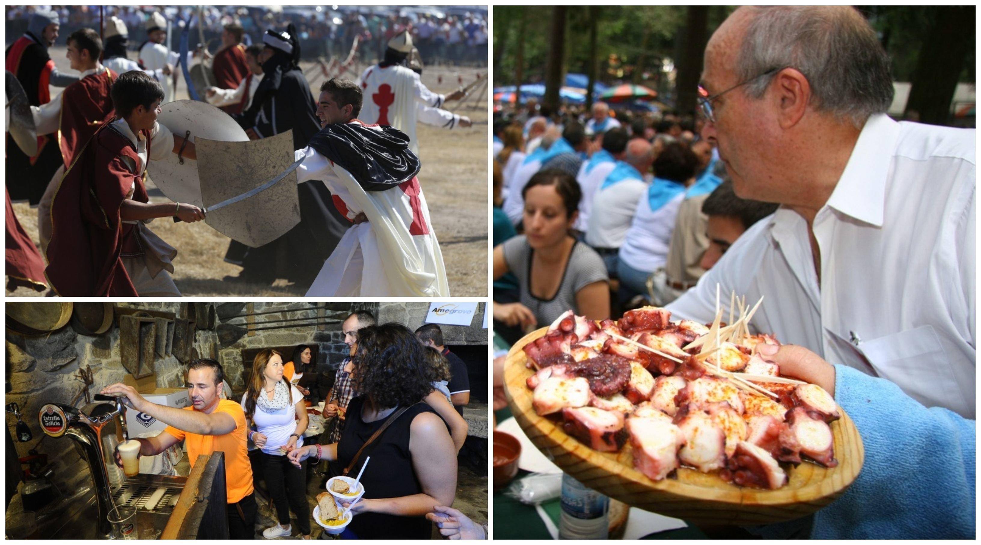 Algunhas das festas de Interés Turístico na provincia