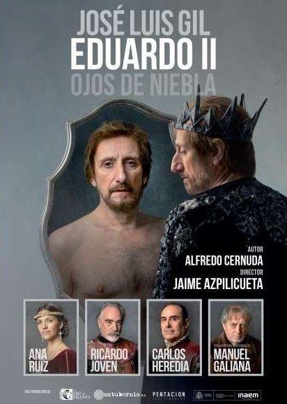 """La obra """"Eduardo II ojos de niebla"""" llega a Ourense"""