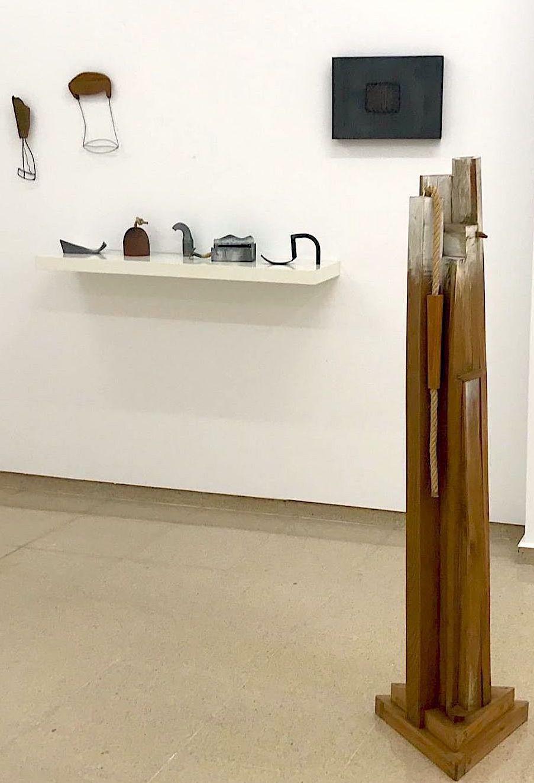 Espacio Basallo en la exposición de Marisa Marimón